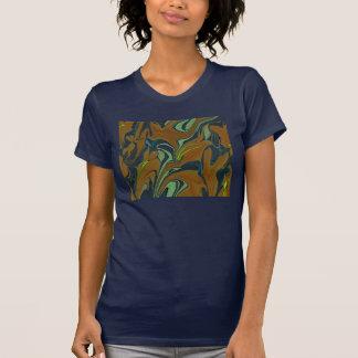 Psychedelic art pattern teeshirt tees