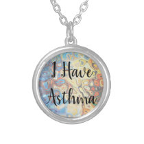 Psychedelic Asthma Medical ID Pendant