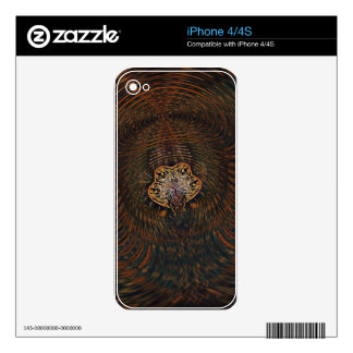 Psychedelic Atom iPhone 4S Decal