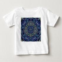 Psychedelic Atom Portal Pattern Baby T-Shirt