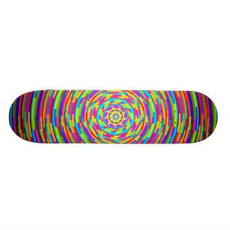 Psychedelic Bars Skateboard Deck