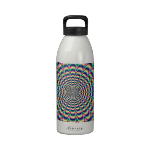 Psychedelic Beat Drinking Bottle