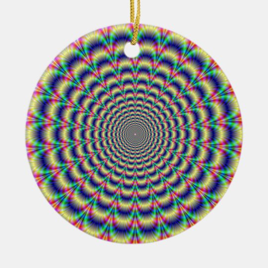 Psychedelic Beat Ornament