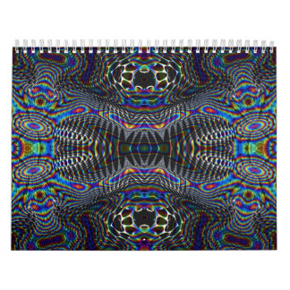 Psychedelic Blist Wall Calendars