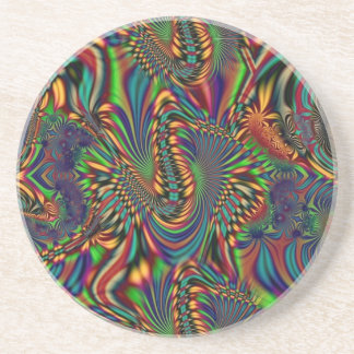 Psychedelic Blist Drink Coaster