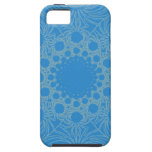 Psychedelic Blue Art iPhone 5 Cases