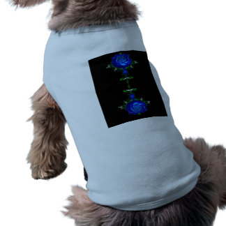 Psychedelic Blue Pet Tee Shirt