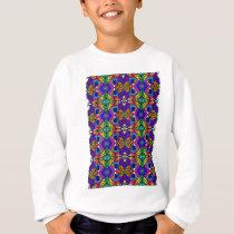 Psychedelic-Blue-Pattern-1 Sweatshirt