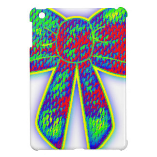Psychedelic bow case for the iPad mini