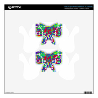 Psychedelic bow skins for PS3 controllers