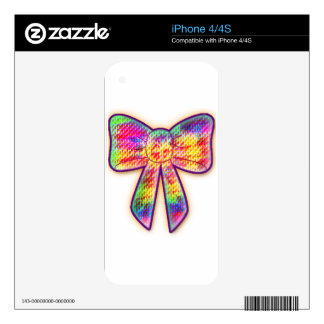 Psychedelic Bow Skins For The iPhone 4S