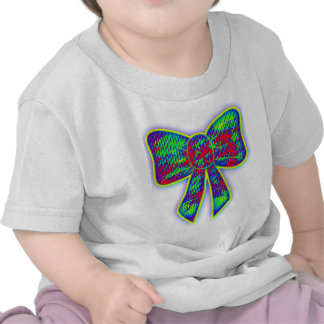 Psychedelic bow t shirts
