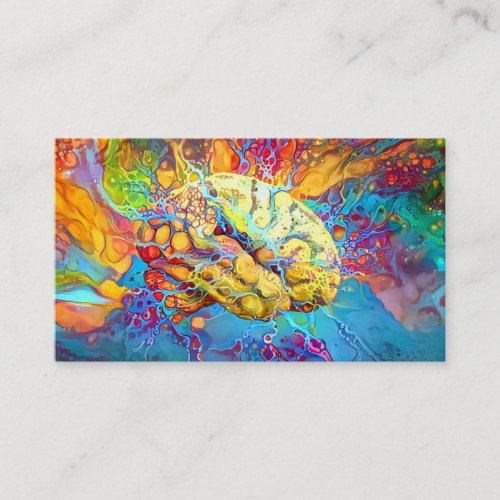 Psychedelic Brain Business Card