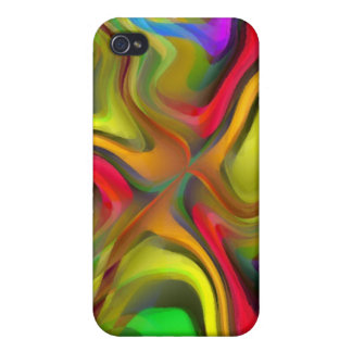 Psychedelic Breakfast Covers For iPhone 4