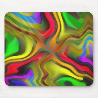 Psychedelic Breakfast Mouse Pad