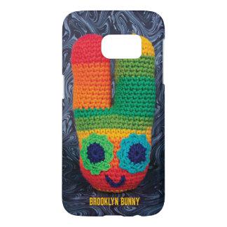 Psychedelic Brooklyn Bunny Samsung Galaxy S7 Case