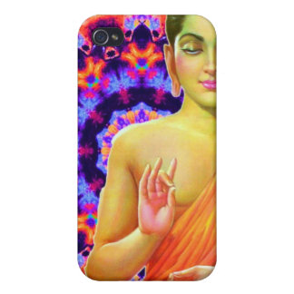 Psychedelic Buddha Cases For iPhone 4