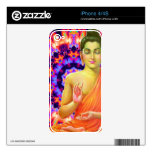 Psychedelic Buddha iPhone 4 Skins