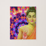Psychedelic Buddha Jigsaw Puzzles