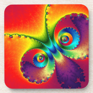 Psychedelic Butterfly Coaster