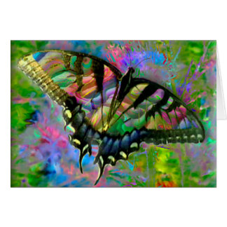 [Psychedelic Butterfly] Colorful - Any Occasion Card