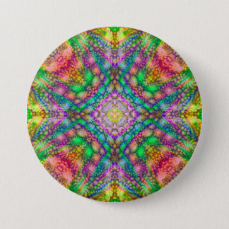 Psychedelic  Buttons, square or round Button