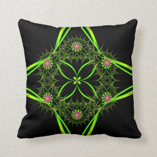 Psychedelic Cactus Pillow