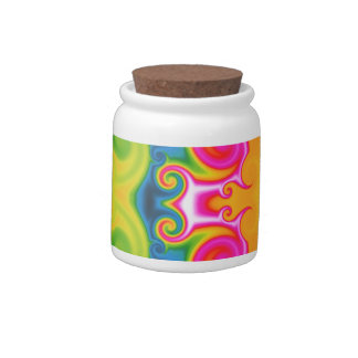 Psychedelic Candy Jar