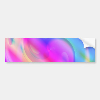 Psychedelic Car Bumper Sticker