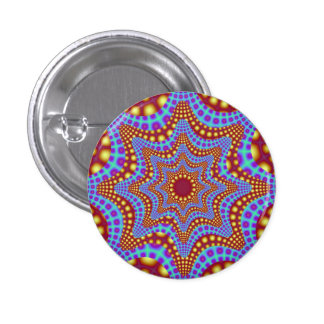 Psychedelic Carousel Button