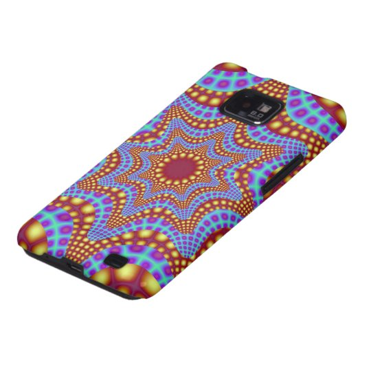 Psychedelic Carousel Galaxy SII Case