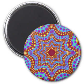 Psychedelic Carousel Magnet