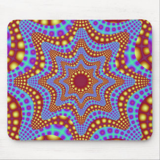 Psychedelic Carousel Mousepad