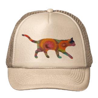 Psychedelic Cat Trucker Hat