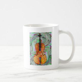 Psychedelic Cello Coffee Mug