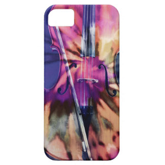 Psychedelic cello iPhone SE/5/5s case