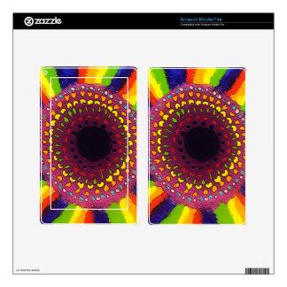 Psychedelic Chakras Original Design Skins For Kindle Fire