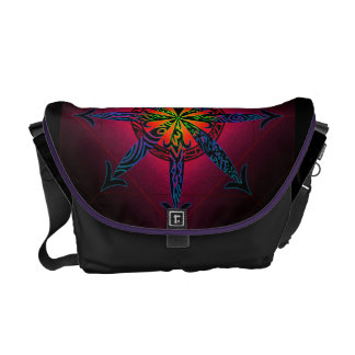 Psychedelic Chaos Messenger Bag