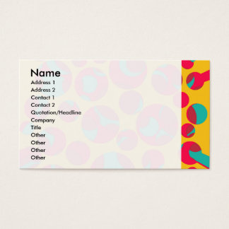Psychedelic cheese business card