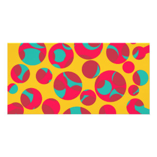 Psychedelic cheese card