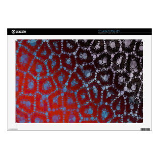 "Psychedelic Cheetah Abstract Pattern Decal For 17"" Laptop"