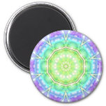 Psychedelic Circle Magnets