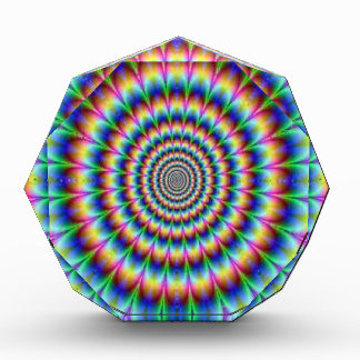 Psychedelic Circle Moving Illusion Dazzling Awards