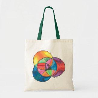 Psychedelic Circle Overlay Bag