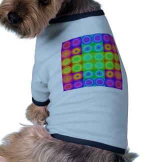 Psychedelic Circles Pet Tee Shirt