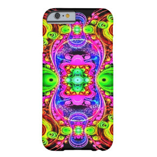 Psychedelic Circus Act Fractal Art Barely There iPhone 6 Case