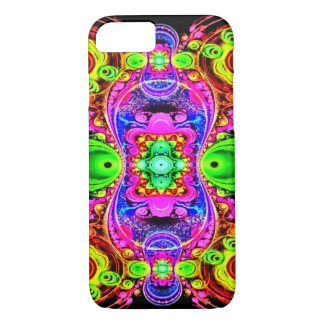 Psychedelic Circus Act Fractal Art iPhone 7 Case