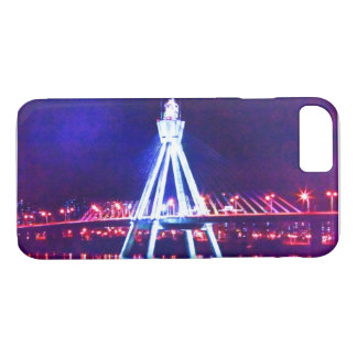 🌌🌉🌙Psychedelic City Nightscape Fabulous iPhone 8/7 Case