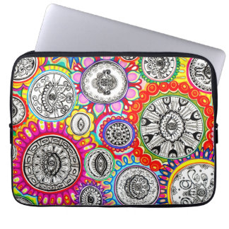 Psychedelic Colorful Cosmic Laptop Sleeve Computer Sleeves