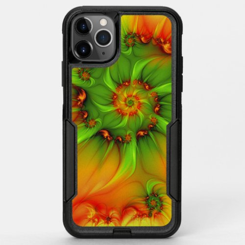 Psychedelic Colorful Modern Abstract Fractal Art Phone Case